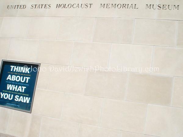 USA, Washington, D.C., United States Holocaust Memorial Museum. (2008)
