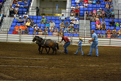 2017 ND State Fair - Pony pull contest - 7-22-17 - winner!