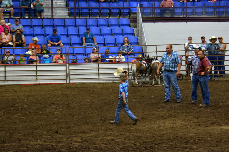 2017 ND State Fair - Pony pull contest - 7-22-17 - the winner!!