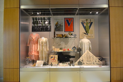 Clothing & posters from WW 1 @ ND Heritage Center - August 1, 2017