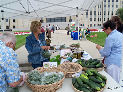 Farmer's Market at Capitol - August 7, 2013