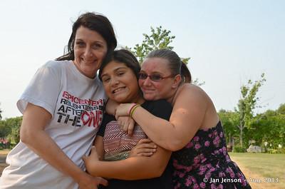 Dawn, Aurora, Amy