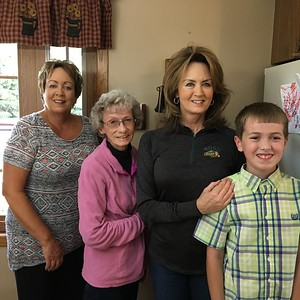 Mary Hill, Jenene Robinson, Barb Hill and