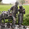 The Norwegian Emigrant Museum / <br /> Norsk Utvandrermuseum, Ottestad 14/09/2014 --- Foto: Jonny Isaksen<br /> <br /> Torleif S. Knaphus (1881-1965)<br /> A copy of The Handcart Pioneer Monument, located on Temple Square in Salt Lake City, Utah