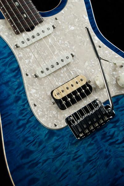 NOS-MT #3310 Aqua Blue Burst, 60's Fats, Blown 59.