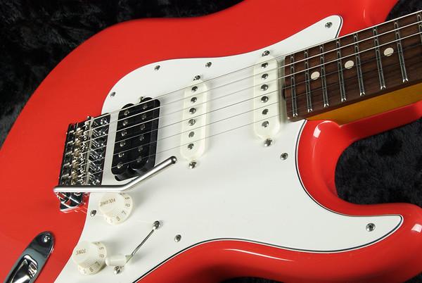 NOS Retro #3284 Fiesta Red, SSH 60's Fats, 327 Grosh Humbucker.