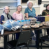 KEVIN HARVISON | Staff photo<br /> The baking class of McAlester Nursing and Rehab on 615 East Morris shows that giving comes in many ways. Showing compassion for on another, taking time for other, helping others in need and showing others you care. Showing others that you care should not only be around the holidays but everyday the residents stated. The residents of McAlester Nursing and Rehab are very compassionate for one another and others. On Nov. 12 during there baking class the residents stated they would love to make Thanksgiving baskets for some individuals who may need that little extra help around the hoiday. The baskets will be delivered on Nov. 21 at 2 p.m. The McAletser Nursing and Rehab staff feel that they are truly blessed to have such careing residents and family members. Never be to busy to help someone in there journey.