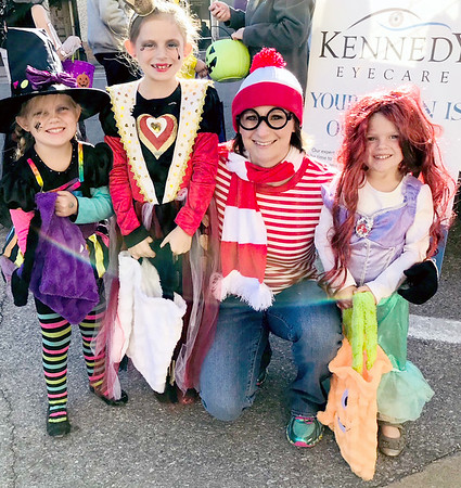 Submitted photo | <br /> Pictured from left during the Kennedy Eye Ware Fall Festival is Aleigha Smart, Kinley Smart Burt Null and Rhyder Smart. The festival was free to the public.