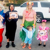 Submitted photo | <br /> Pictured are winners of the annual Kennedy Eyeware Fall Festival Halloween Costume contest.