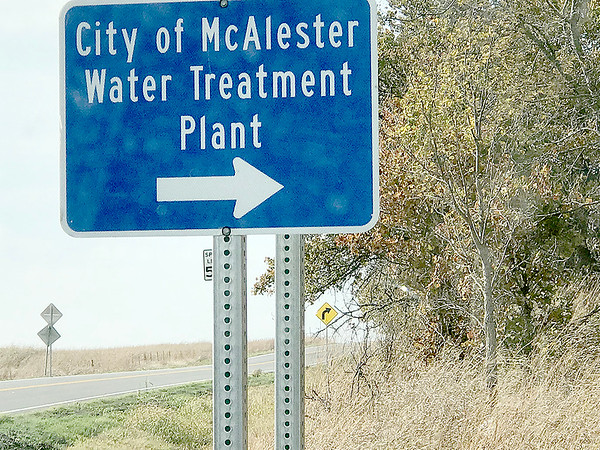 ADRIAN O'HANLON III | Staff photo<br /> The city of McAlester Water Treatment Plant suffered a pipe burst and a burned water pump Friday, leaving most of the surrounding area with low water pressure or without water for most of the weekened.