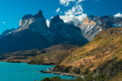 Torres Del Paine National Park , Lake Pehoe, Chile