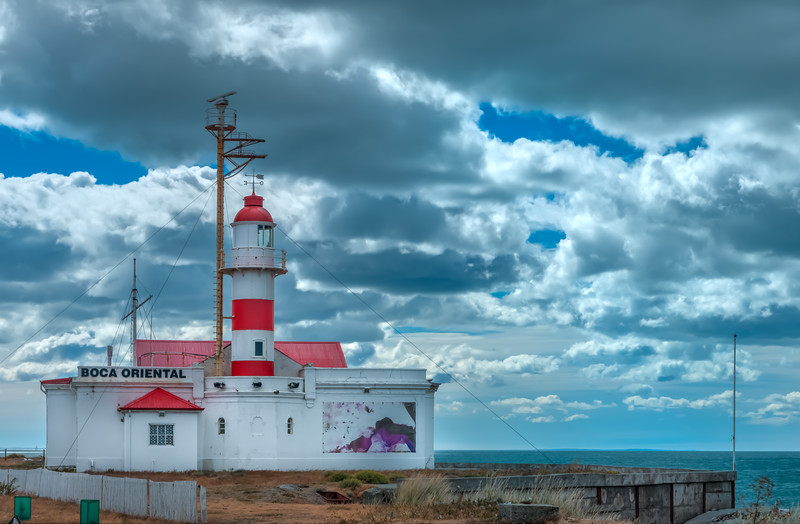 Lighthouse @ Strait of Magellan , Tierra del Fuego, Chile