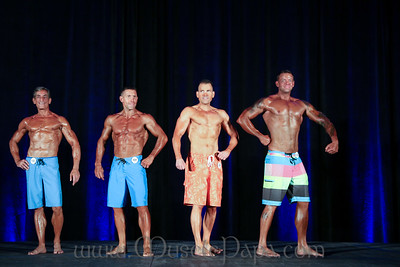Men's Physique Prejudging