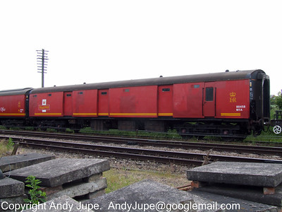 United Kingdom Registered Non-Passenger Carrying Coaching Stock (NPCCS)
