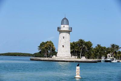 Ornamental lighthouse at Boca Chita Key