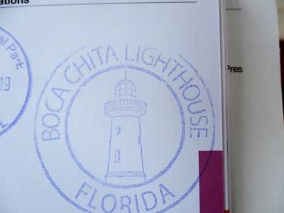 Boca Chita Lighthouse stamp