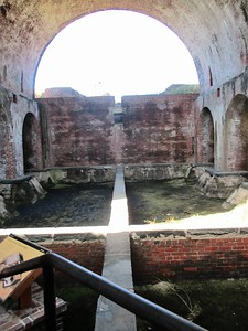 Inside the powder house