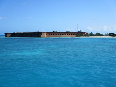 Arrival at Fort Jefferson