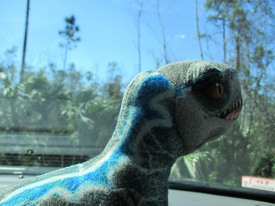 Jaydyn's dinosaur picture