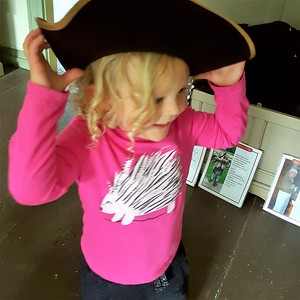Brooklyn with a hat