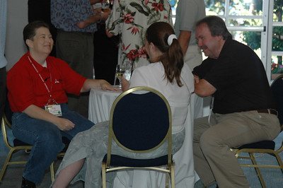 Left to right, Eve Chesler, Kate Jordan CSM, and Carlisle Saffer