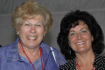 Shirley Haskovitz and Sara Samuels CSM