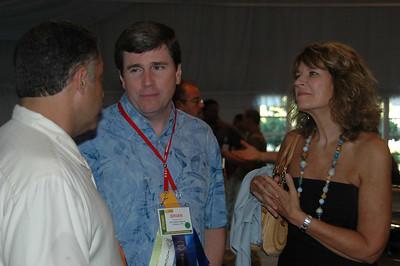 NESDA Region 1 Director Paul Burgio, NESDA Immediate Past President Brian Gibson CET, Dottie Mahoney