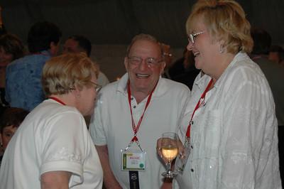 Trudy Hirsch, Richard Feldman and Elaine Newman
