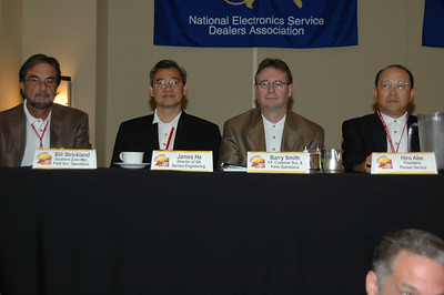 Pioneer Management team continued:  (left to right) Bill Strickland, James Ha, Barry Smith, and Hiro Abe.
