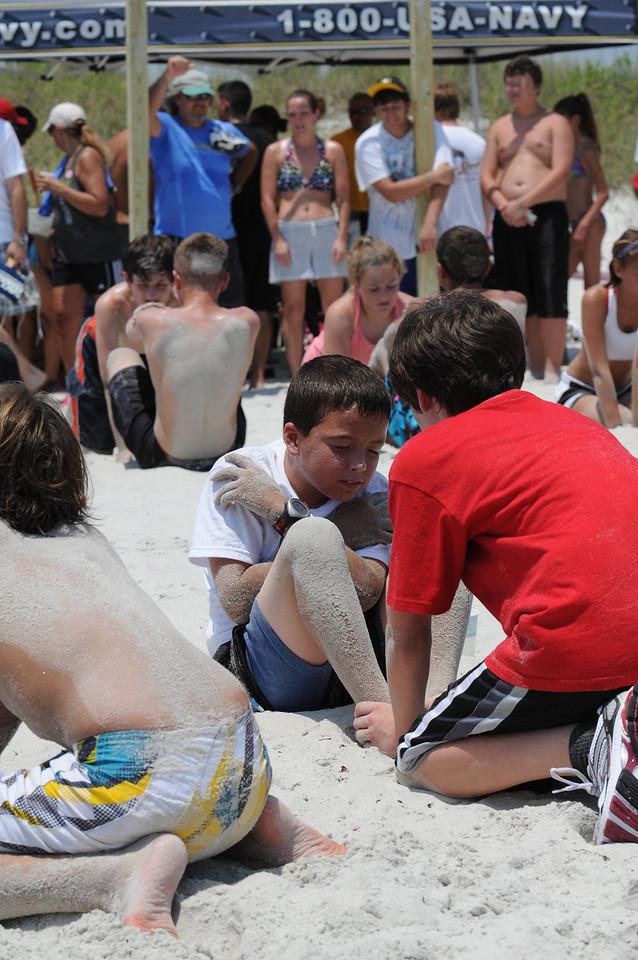 Neverquit 2011 Junior SEAL Challenge situps