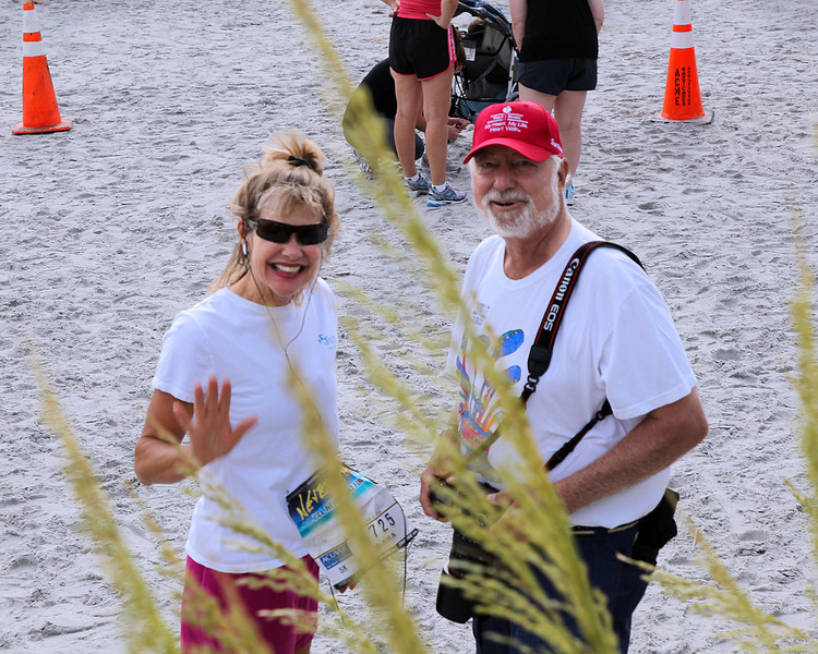 June 9, 2012, Never Quit, Jaacksonville Beach, FL Sara Holloway-Smith and Gary Bunch