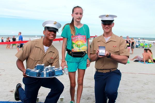 3927,5K,Marines, blue carpet