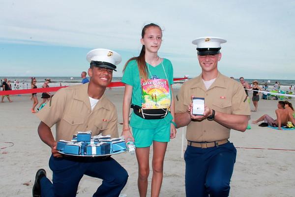 3927, 5K,Marines, blue carpet