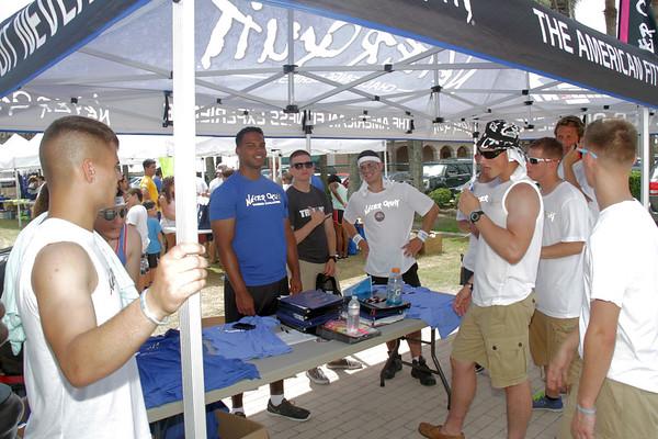 volunteers, expo, vendors, sponsors, Navy, marines