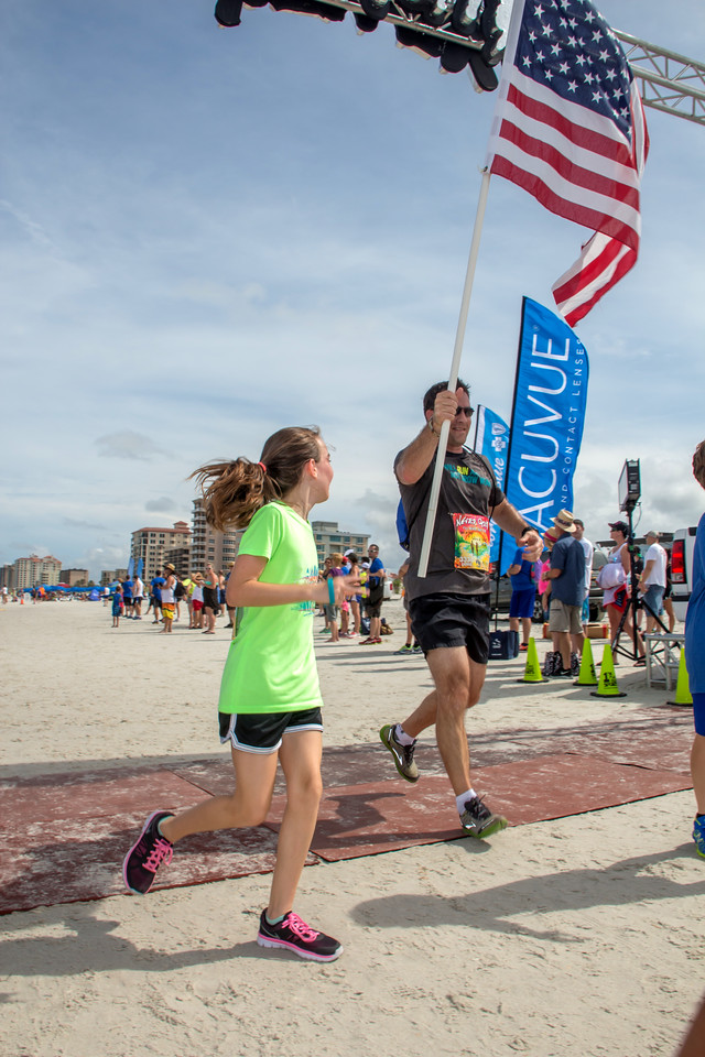 1 Mile Fun Run, 3338, flag