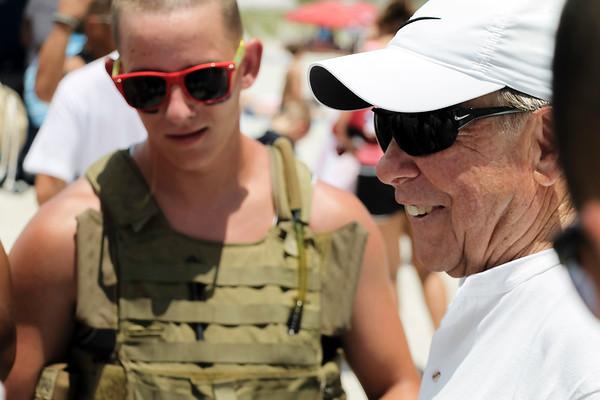 marines, navy, volunteers