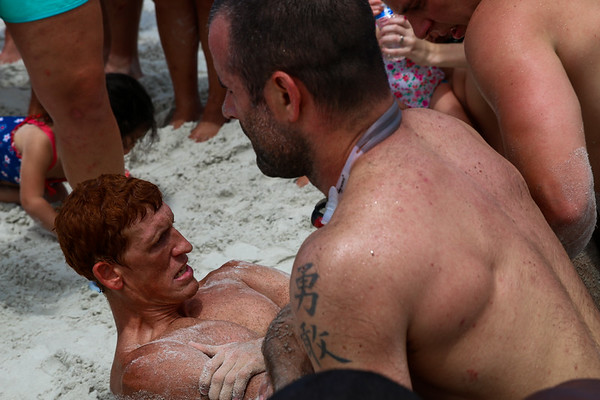 battle for the beach, sit-ups