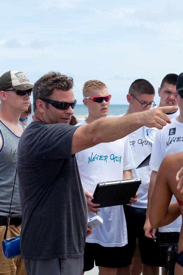 Battle for Beach, volunteers, navy