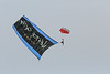 paratroopers, skydivers , flag