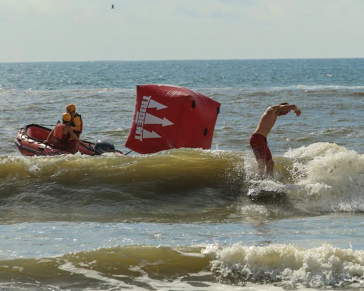 lifeguards, set up