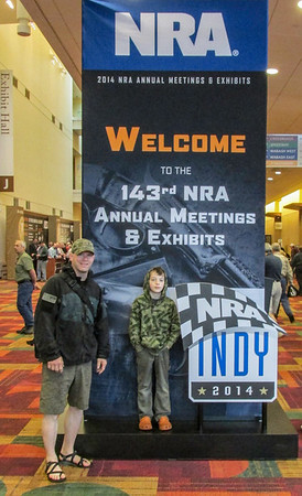 NRA Convention INDY 2014