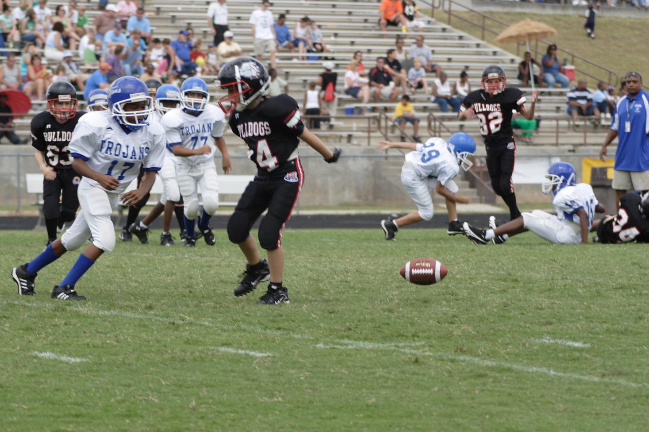 Defense knocks the pass away
