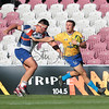 McInnes Wilson Lawyers Brisbane City have secured their first win of the 2016 Buildcorp National Rugby Championship with a 44-36 win over the Western Sydney Rams at Ballymore Stadium