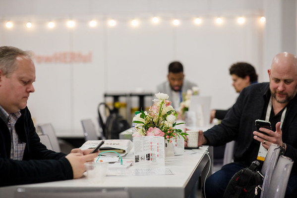 The FQ Lounge at NRF 2020