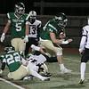 Nashoba Regional High School football hosted Groton Dunstable Regional high School on Friday night, Nov. 15, 2019. NRHS's #44 Connor Salmon scores a touchdown. SENTINEL & ENTERPRISE/JOHN LOVE