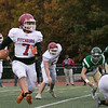 Nashoba Regional High School played Fitchburg High School on Friday afternoon in Bolton. FHS's #7 Anthony Oquendo. SENTINEL & ENTERPRISE/JOHN LOVE
