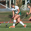 Nashoba Regional High School field hockey played Algonquin Regional High School on Saturday, Nov. 9, 2019 for the Central Mass. Division 1 championship. NRHS's #24 Gillian Fay and ARHS's #7 Alexandria Moll.  SENTINEL & ENTERPRISE/JOHN LOVE