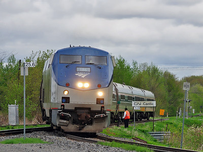 Amtrak 694, Cantic Qc