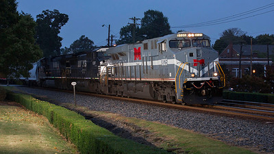 NS train 11R Thomasville,NC 10/10/13.