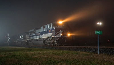 NS train 348 Landis,NC 1/5/2014
